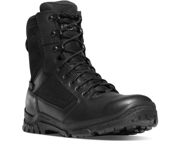 "Danner 23822 Lookout 8"" Black Boots"
