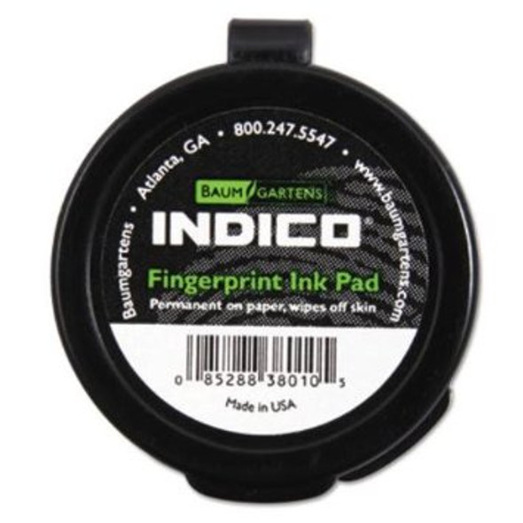 Baum Gartens Indico Fingerprint Ink Pad w/Adhesive