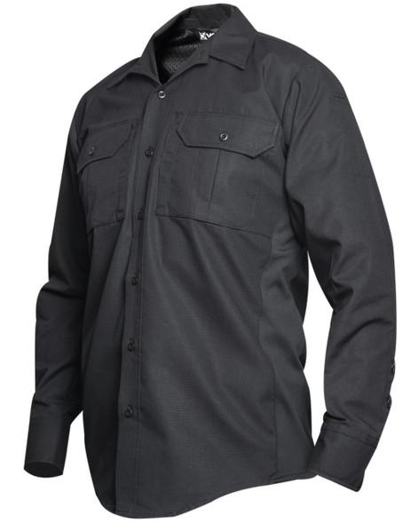 Vertx VTX8120BK Phantom LT Long Sleeve Shirt, Black