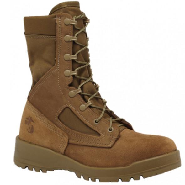"""Belleville 500 8"""" USMC Waterproof Combat Coyote Boots"""