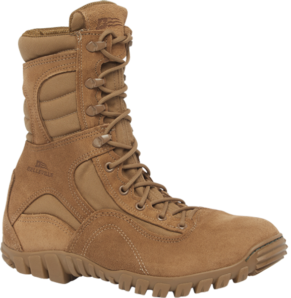 Belleville SABRE 533 ST Hot Weather Hybrid Steel Toe Assault Boots, Coyote