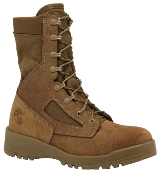 Belleville 590 USMC Hot Weather Combat Boots (EGA), Coyote