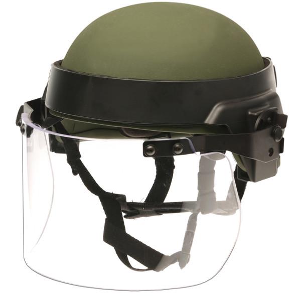 "Paulson DK7-X.250AF Riot Face Shield w/Anti-Fog / .250"" Thick"