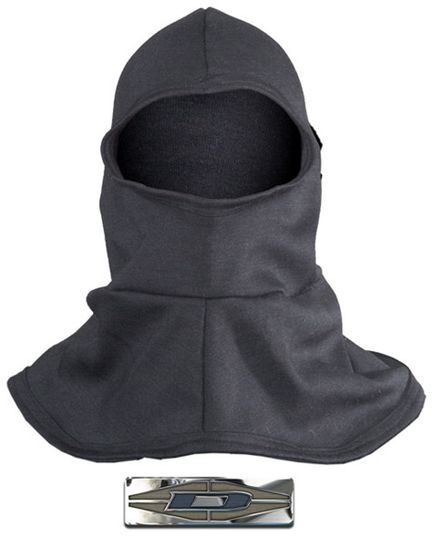 "Damascus NH250H-B Nomex Heavyweight Hood, 18"" Length w/Flaired Bib"