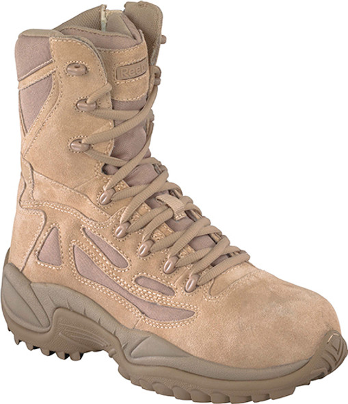 "Reebok RB897 Women's Rapid Response Stealth 8"" Boots"