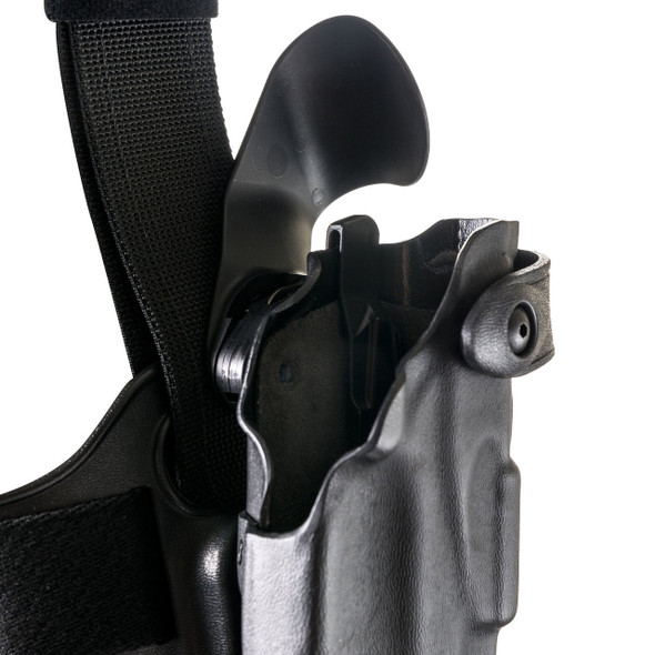 "Safariland ALS Drop-Rig Tactical Holster For Glock 4.6"" - Left Hand - Black - STX Tactical Finish"