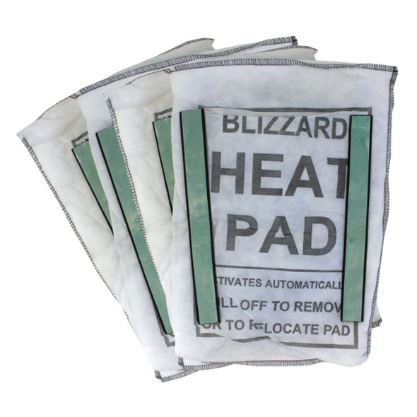Persys Medical Blizzard Heat Replacement Heating Pads (Set of 4 w/ Velcro)
