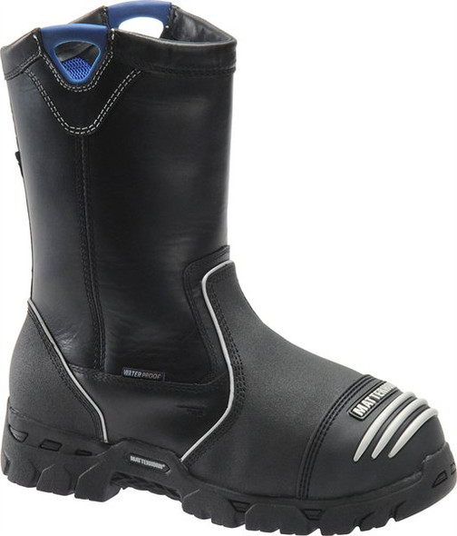 "Matterhorn MT201 Black 10"" Waterproof Wellington Boots"