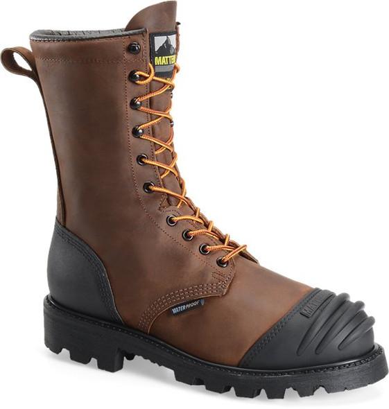 """Matterhorn MT910 Brown 10"""" Waterproof Boots"""