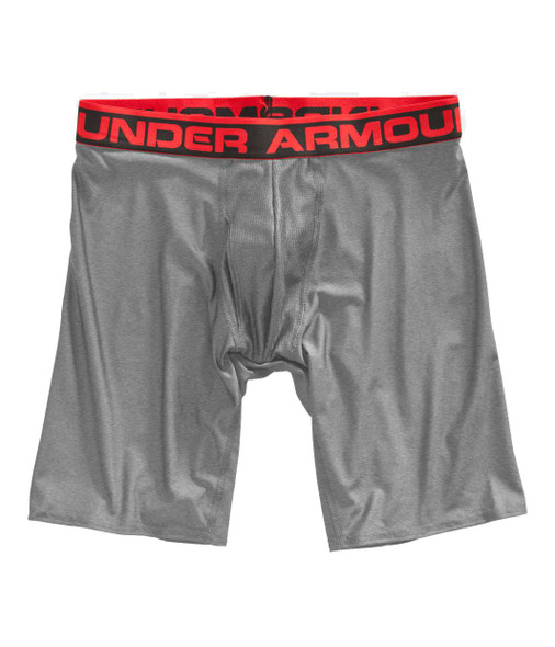 Under Armour Men's Original Series 9 Boxerjock, True Gray Heather