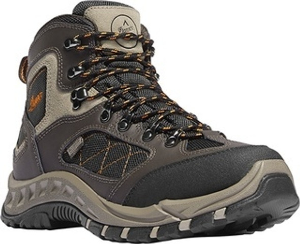 "Danner 61360 Men'sTrailTrek 4.5"" Brown-Orange Boots"