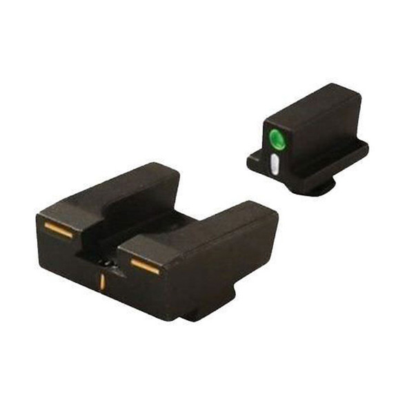 Mepro R4E Tritium Crosshair Night Sights Glock Full Size Pistols