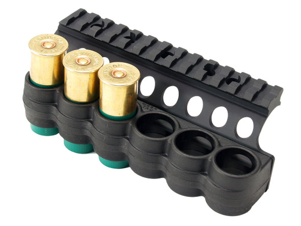 Mesa Tactical SureShell Polymer Shell Carrier & Top Rail Benelli M4