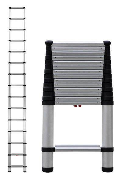 Telesteps 1800EP Heavy Duty Wide Step Telescoping Ladders