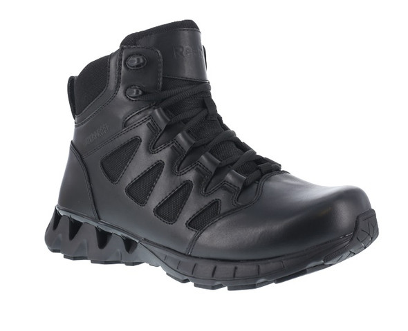 "Reebok RB8630 Men's ZigKick 6"" Waterproof Side Zip Tactical Boots"