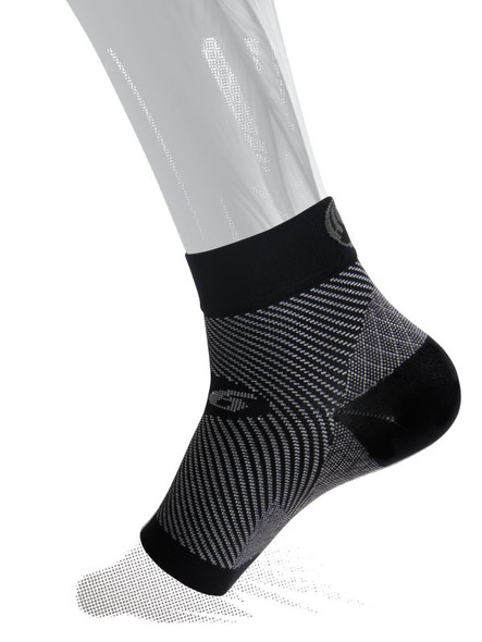 OS1st FS6 Sports Compression Black Foot Sleeves