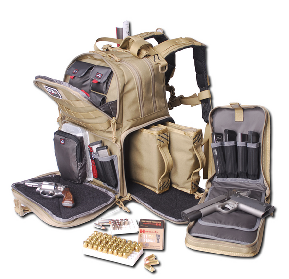 G Outdoors Tactical Range Backpack TAN