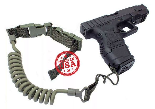 KZ Tactical Pistol Lanyard w/ Belt Loop Attachment
