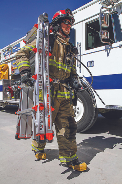 Little Giant Defender Fire Fighting Ladder