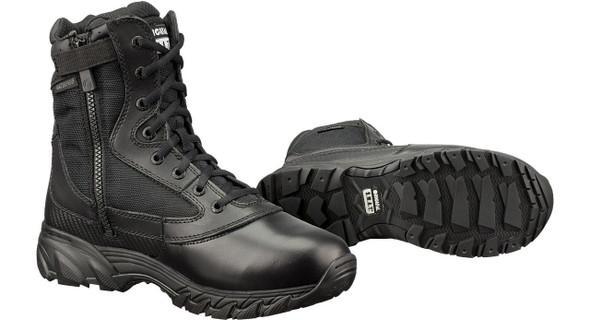 """Original SWAT 139601 Chase Waterproof Side Zip 9"""" Black Boots"""