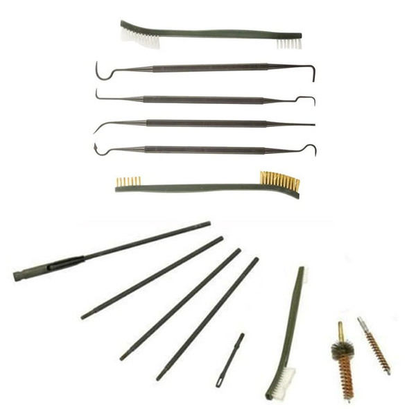 Battle Steel AR15/M4 Cleaning Kit w/Pick & Brush Set