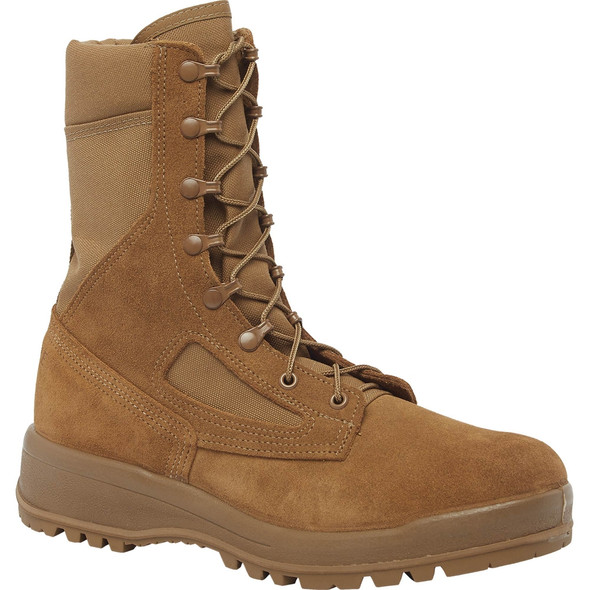 Belleville C390 Hot Weather AR 670-1 Compliant Combat Boots, Coyote