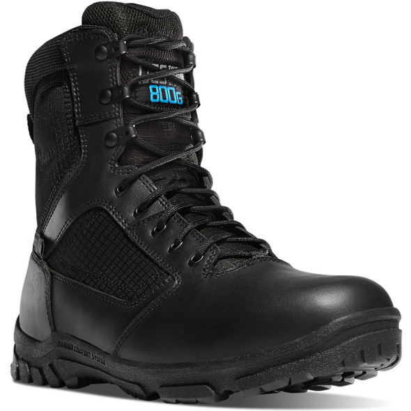 "Danner 23827 Lookout 8"" 800G Boots, Black"