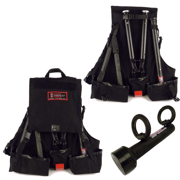 RAT Rapid Assault Tools Extendable Kit Backpack w/Rams