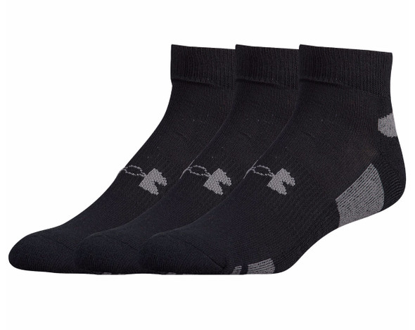 Under Armour Men's HeatGear Low Cut 3-Pack Socks