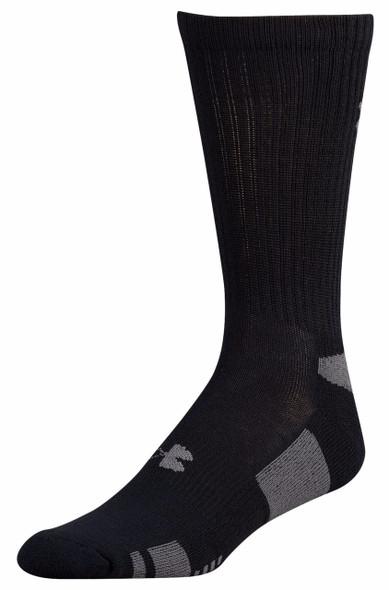 Under Armour Men's HeatGear Crew 3-Pack Socks
