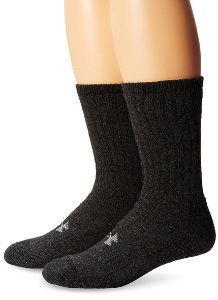 Under Armour Men's ColdGear Boot Crew 2-Pack Socks