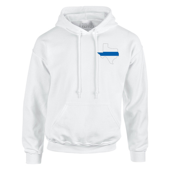 Thin Blue Line  Texas Hoodies