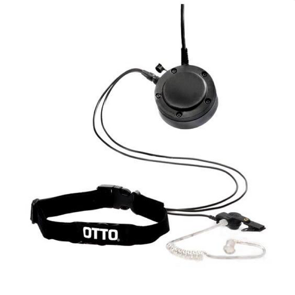 OTTO Professional Throat Microphone System For Motorola Radios