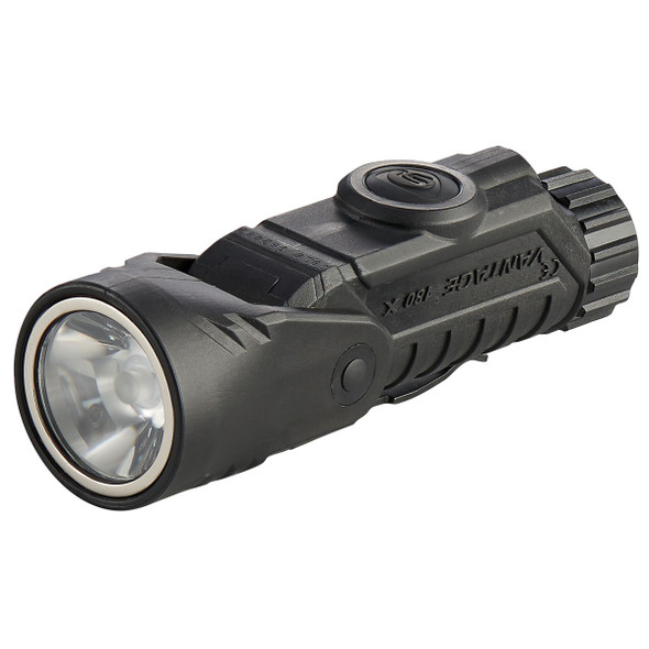Streamlight Vantage 180 X USB Multi-Fuel Multi-Function Helmet/Right-Angle Flashlight Black
