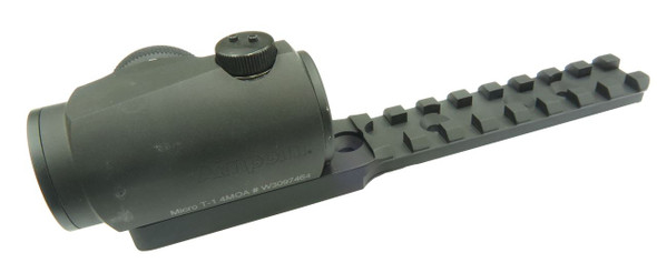 Battle Steel Benelli M4 Top Rail w/Integrated Aimpoint / HoloSun Micro Sight Base