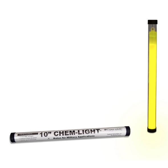 Cyalume ChemLight Military Grade Light Baton 10