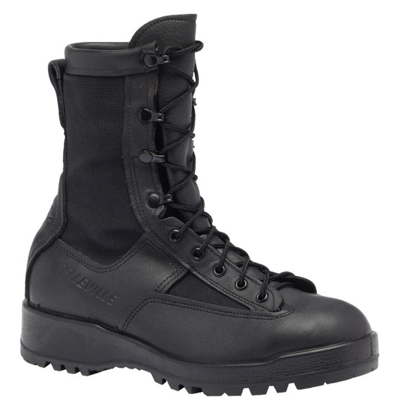 "Belleville 700 8"" Waterproof Insulated Duty Black Boots"