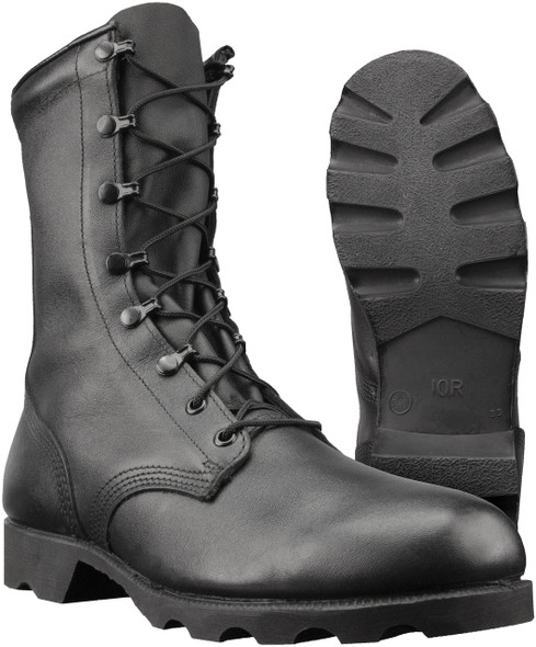 "Altama 515701 Men's Leather Combat 10"" Boots, Black"