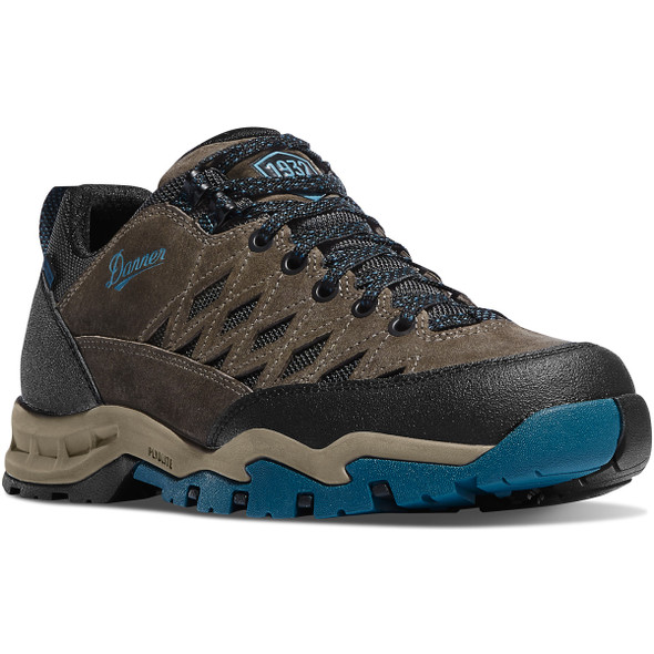 "Danner-61381 TrailTrek Light 3"" Shoes, Gray/Blue"