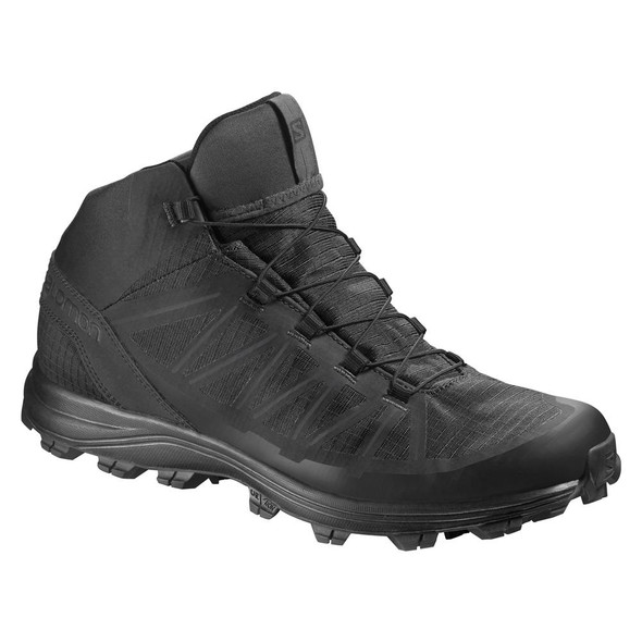 Salomon L39472400 Speed Assault Black Boots
