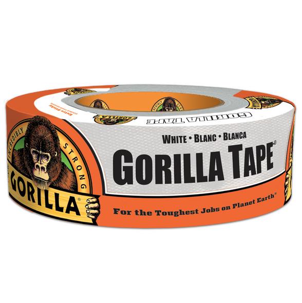 """Gorilla Duct Tape 1.88"""" x 30 Yard 2/Pack WHITE"""