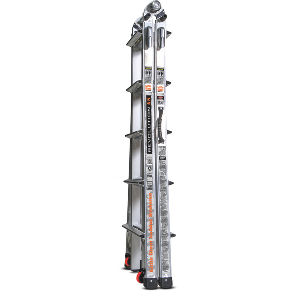Little Giant M22 Revolution Aircraft Support Ladder - 19 Foot / 300lbs Capacity