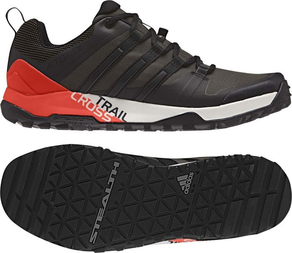 Adidas Men's Terrex Trail Cross SL Umber / Core Black / Energy Shoes