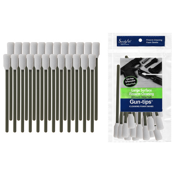 Swab-Its Gun-Tips Cleaning Swabs - 24 Pieces