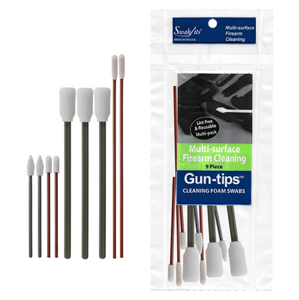 Swab-Its 9 Piece Gun-Tips Kit