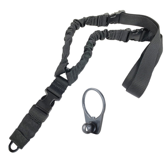 KZ Single Point Bungee Slings w/ FREE Blackhawk Universal Single Point Sling Mounts
