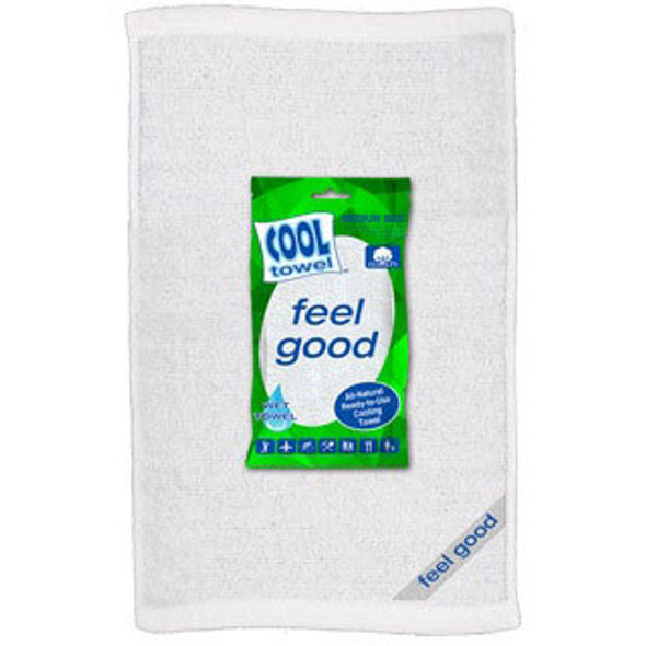 Cool Towel 100% Cotton Hygenic Ready To Use Cooling Towels 12/Pack