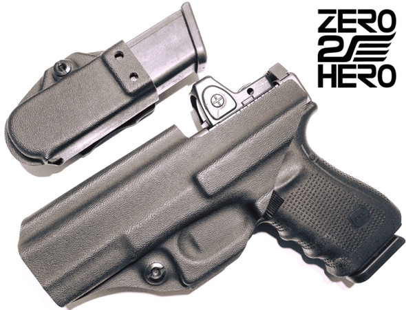 Zero 2 Hero Kydex IWB Holster & Magazine Pouch Combo