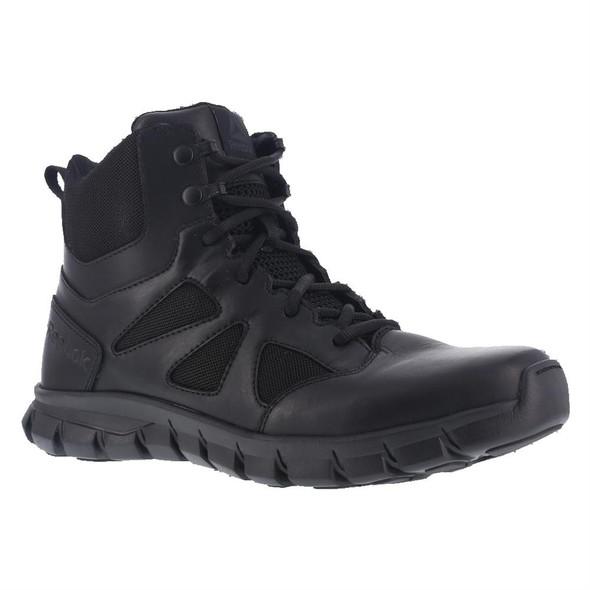 "Reebok RB8605 Men's Sublite Cushion 6"" Side Zip Tactical Boot"