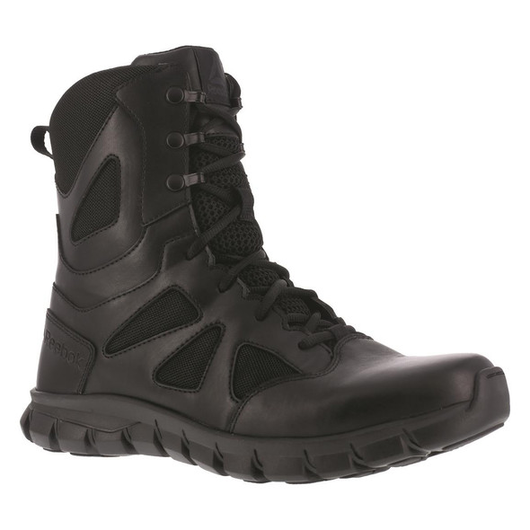 "Reebok RB8806 Men's Sublite Cushion 8"" Waterproof Side Zip Tactical Boot"